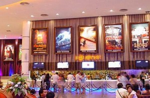 Cineplex in Siam Paragon is een luxe en comfortabele bioscoop.