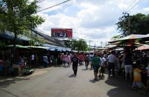 De Chatuchak Market is een van de grootste markten ter wereld.