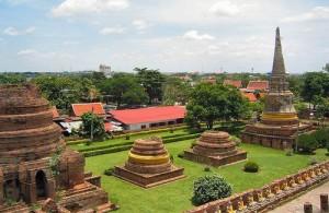 Het oude Ayutthaya wordt ook wel het historisch park genoemd.