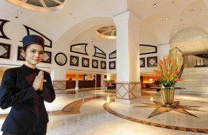 Middenklasse hotels in Thailand doen vaak niet onder voor een eersteklas hotel in Europa.