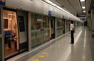 Het netwerk van de metro in Bangkok is geheel ondergronds.