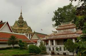 Wat Pho is de oudste tempel van Bangkok.