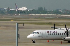 Vanuit Bangkok vlieg je in ongeveer een uur naar Chiang Mai.