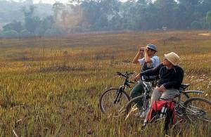In Chiang Mai worden ook avontuurlijke en sportieve fietstochten aangeboden.