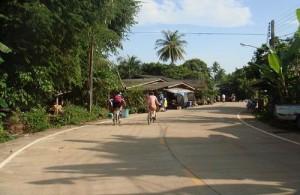 Fietsen in Chiang Mai is een leuke en ontspannen activiteit.