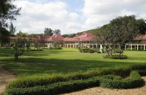 Het Ratchaniwet Marukhathaiyawan Paleis werd gebouwd door koning Rama VI.