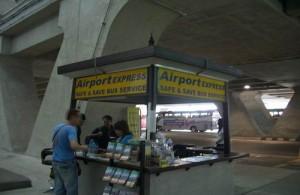 Neem voor een transfer per Airport Expressbus lijn AE4.