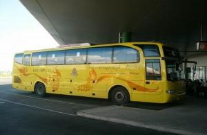 Vanuit Bangkok rijden er vele bussen naar Pattaya.