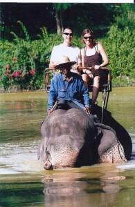 Vanuit de Pattaya Elephant Village kun je een trekking maken door het nabijgelegen junglegebied.