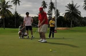 In Pattaya en omgeving liggen vele prachtige golfbanen van hoge kwaliteit.