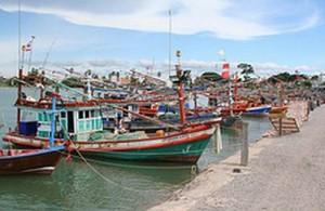 Naklua heeft nog steeds de charme van een vissersdorp.