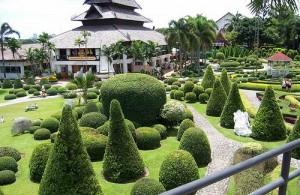 Nong Nooch Garden beschikt over een prachtig aangelegde botanische tuin.
