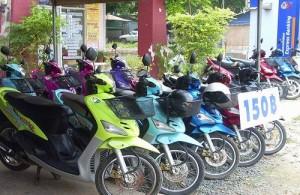Voor je vervoer in en rondom Pattaya is een scooter of brommer erg handig.