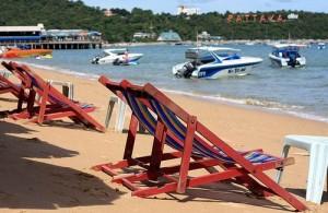 Pattaya staat bekend om zijn uitgestrekte stranden en hoge temperaturen.