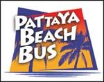 De Pattaya Beach Bus wordt speciaal ingezet voor het vervoer van de toeristen.