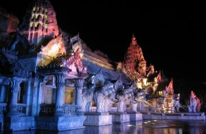 In Phuket Fantasea wordt een spectaculaire show opgevoerd.