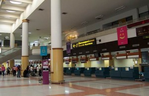 De vertrekhal van Phuket International Airport.