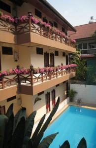 Guesthouses liggen verspreid over heel Thailand.