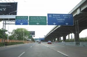 Thailand beschikt over een redelijk goed wegennet.