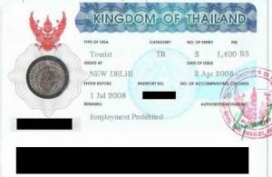 Voor een verblijf van langer dan 30 dagen heb je in Thailand een visum nodig.