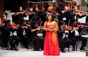 In het Nationale Theater van Bangkok treden vele orkesten op.