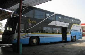 Het grote busstation van Chiang Mai ligt aan de oostkant van de stad.