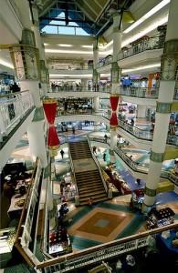 Het Central Aiport Plaza is een groot, modern en luxe winkelcentrum.