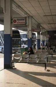 Vanaf het busstation van Chiang Mai is bijna geheel Thailand per bus te bereizen.