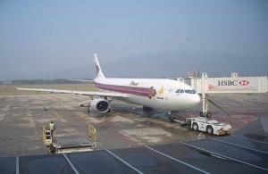Het aantal vluchten op het vliegveld van Chiang Mai neemt elk jaar toe.