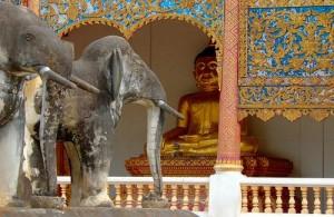 De Chiang Man tempel is de oudste tempel van Chiang Mai.