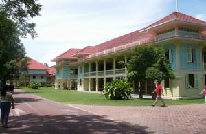 Het Ratchaniwet Marukhathaiyawan paleis werd in 1923 gebouwd door Rama VI.