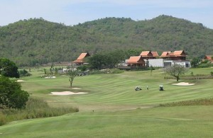 De Banyan Golf Club ligt even ten zuiden van Hua Hin.