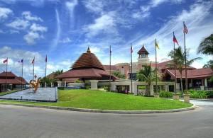 De Springfield Royal Golf Course biedt uitstekende faciliteiten.