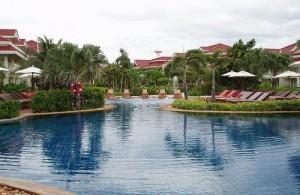 Het mooie en luxueuze Wora Bura Resort in Hua Hin.