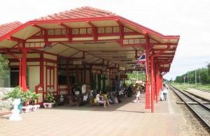 Het Hua Hin Railway station is het oudste treinstation van Thailand.