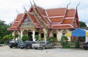 Wat Ampharam wordt ook wel Wat Hua Hin genoemd.