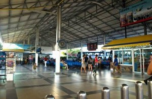 Pattaya Bus Terminal ligt in het noordelijk deel van Pattaya.