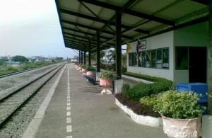 Pattaya Railway Station is een klein treinstation met beperkte faciliteiten.