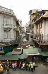 De Pahurat markt in Bangkok is een bekende markt in de wijk Pahurat.