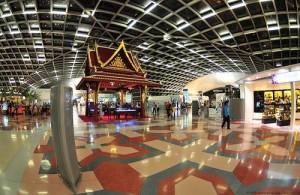 Suvarnabhumi is een ultra modern vliegveld met uitstekende faciliteiten.