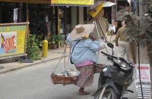 Bo Phut ontwikkelt zich steeds meer als een toeristenplaats.