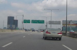 Via Highway 4 reis je vanuit Bangkok richting Surat Thani.