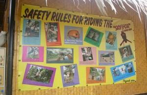 Veiligheid staat bij Sky Fox Cable Ride voorop.