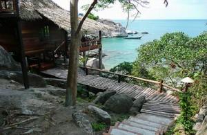 Het Sensi Paradise resort is een goed toeristisch middenklasse hotel.