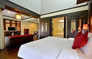De in Lanna-stijl ingerichte kamer van Bodhi Serene
