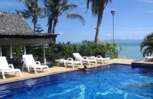 Het Milky Bay Resort biedt een goede prijs-kwaliteitsverhouding.