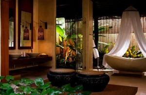 De kamers in het Rasananda Resort zijn zeer luxe ingericht.