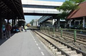 Don Muang Railway Station ligt bij Don Muang Airport.