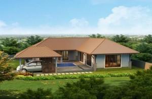 Villa Hua Hin met 2 slaapkamers