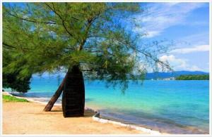 Het paradijselijke Koh Naka ligt op slechts 5 minuten van het drukke Phuket.